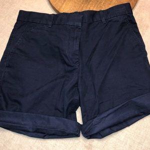 Women's Khakis by Gap Boyfriend Roll-Up Shorts Sz4